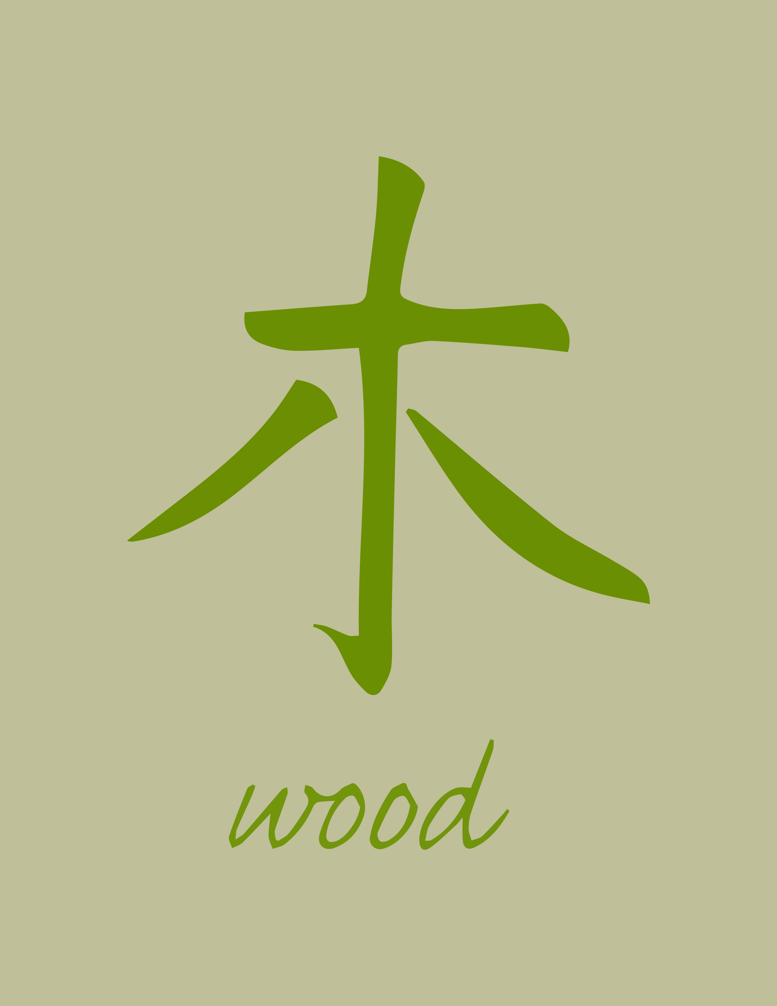 Harmony Of The Wood Element