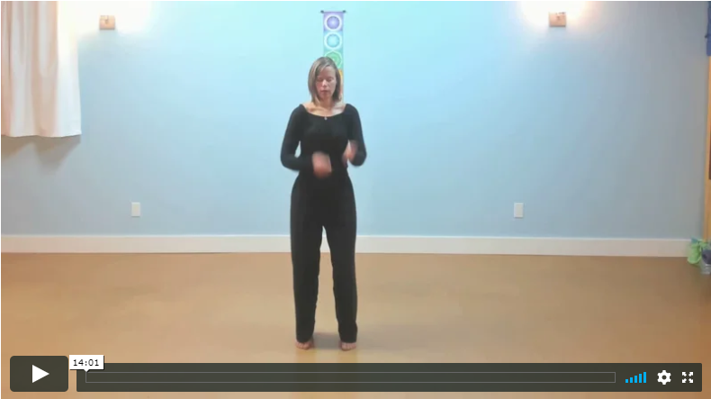 Video Training: How To Get Centered & Grounded Fast With Belly Drumming